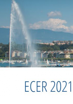 We will be present in the next ECER2021