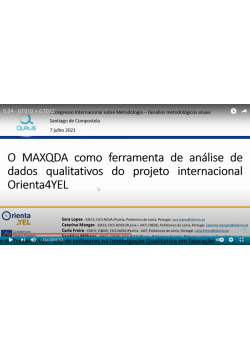 Members of the Portuguese Team participated in the 1st International Congress on Research Methodology