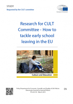 Research for CULT Committee -  How to tackle early school leaving in the EU